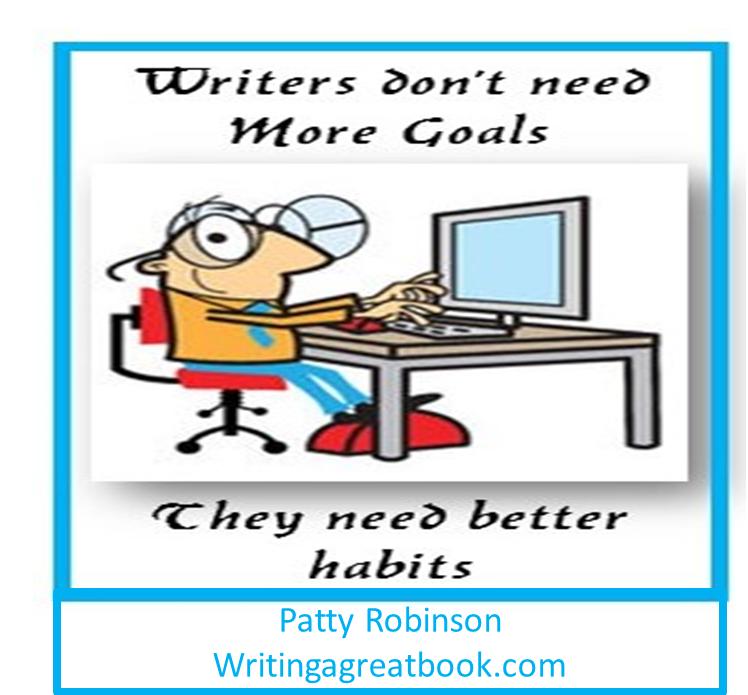 writers need better habits