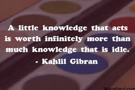 knowledge that acts