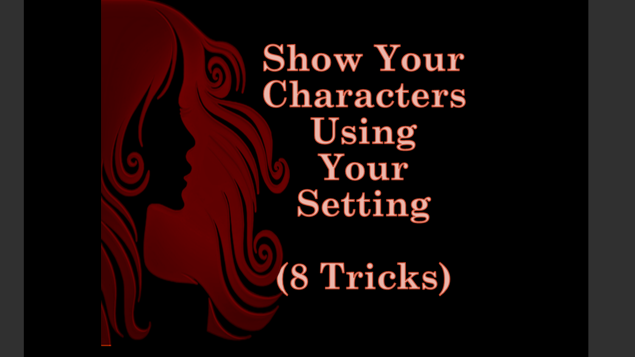 show characters using setting