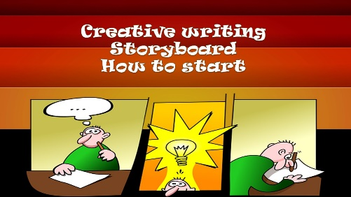 creative writing storyboard how to start