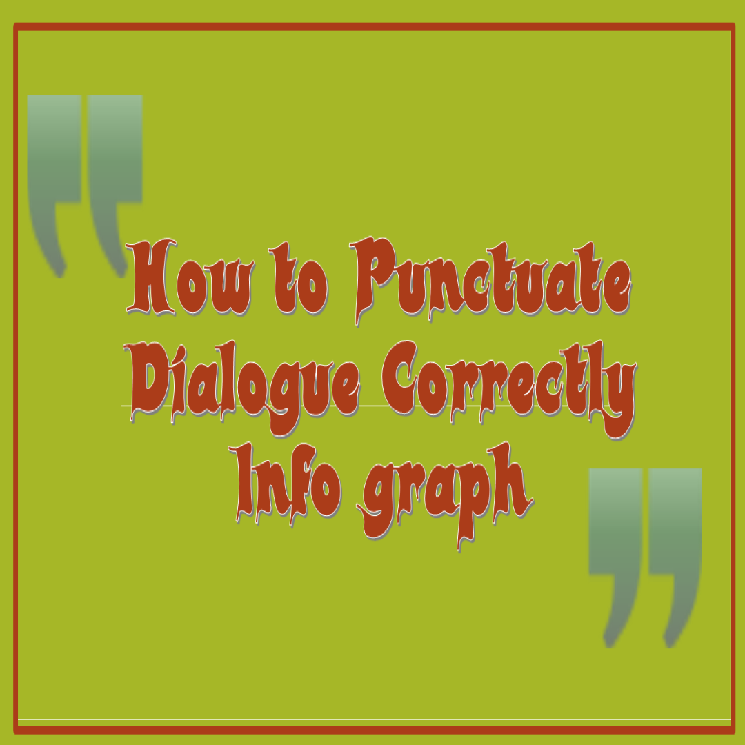 punctuate Dialogue