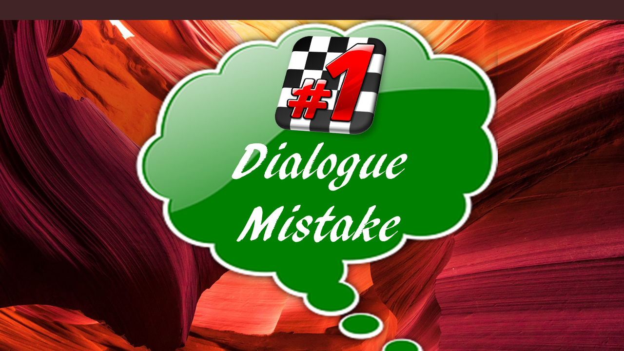 dialogue mistake #1