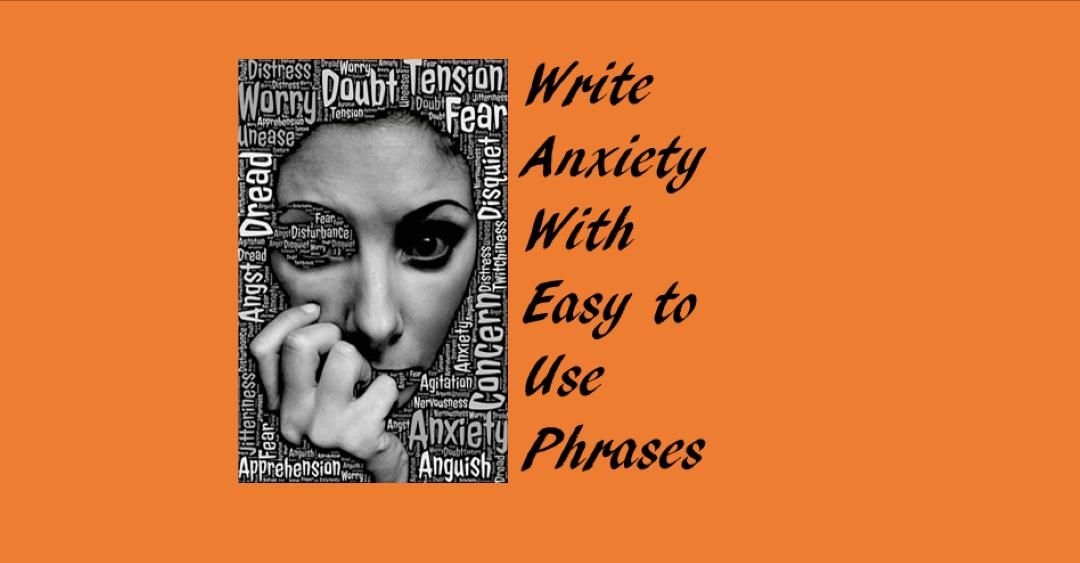 Write Anxiety